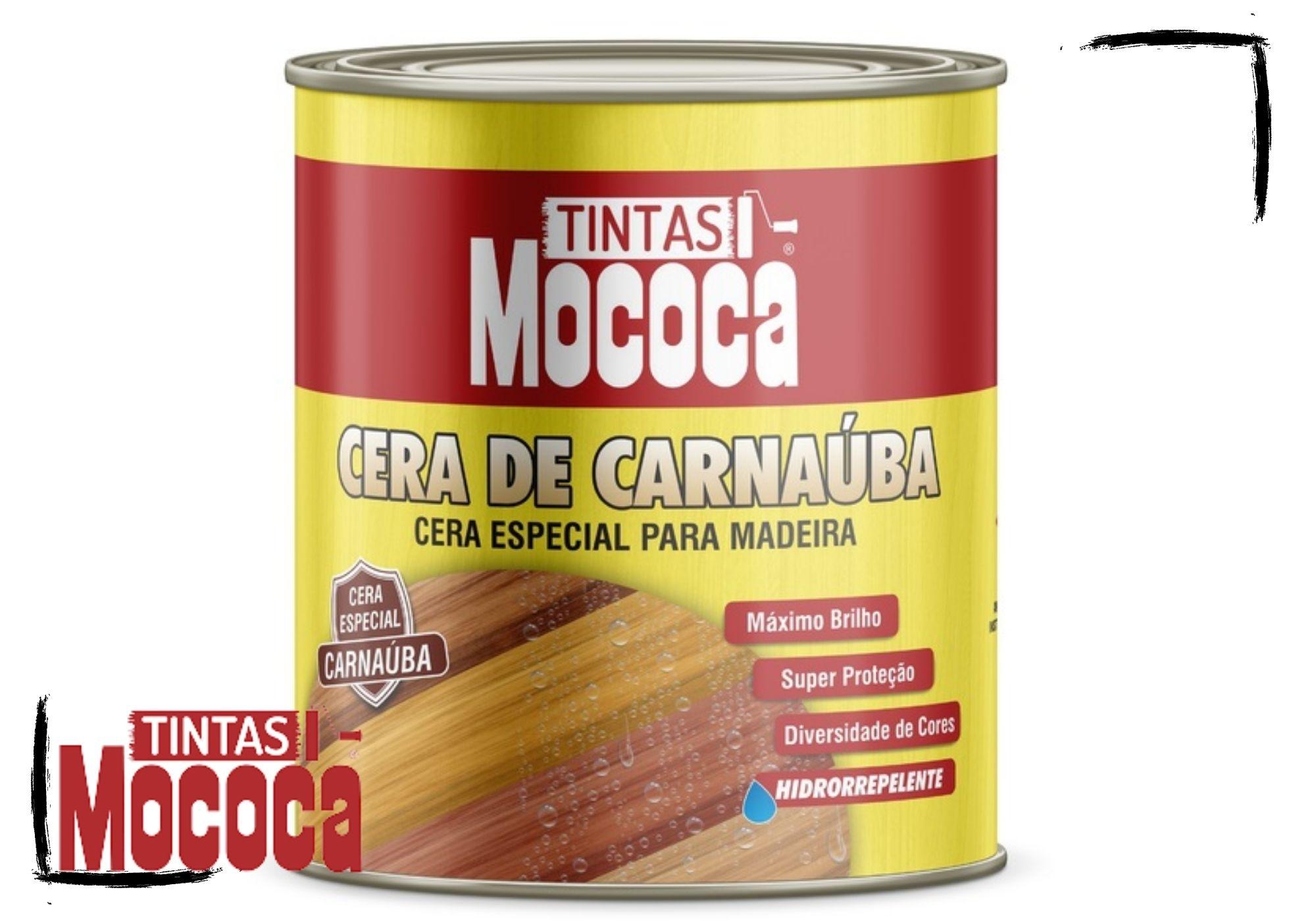 Cera de Carnaúba Especial Para Madeiras (Cores) Mococa