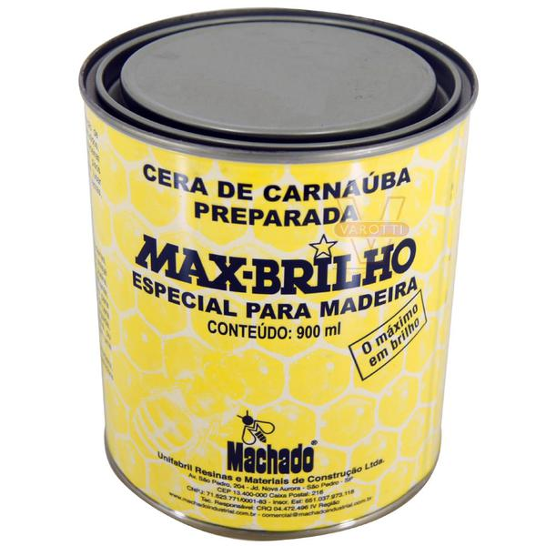 Cera de Carnaúba Incolor 900ml - Machado