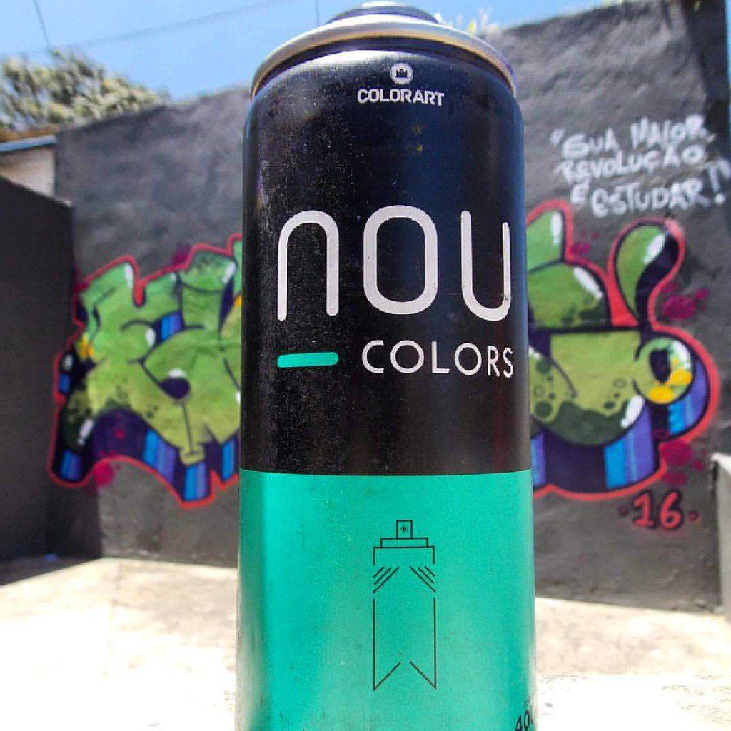 Colorart NOU Colors Spray Para Grafite e Arte em Geral