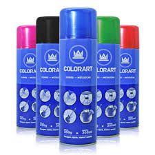 Colorart Spray Cores Metálicas e/ou Alta Temperatura