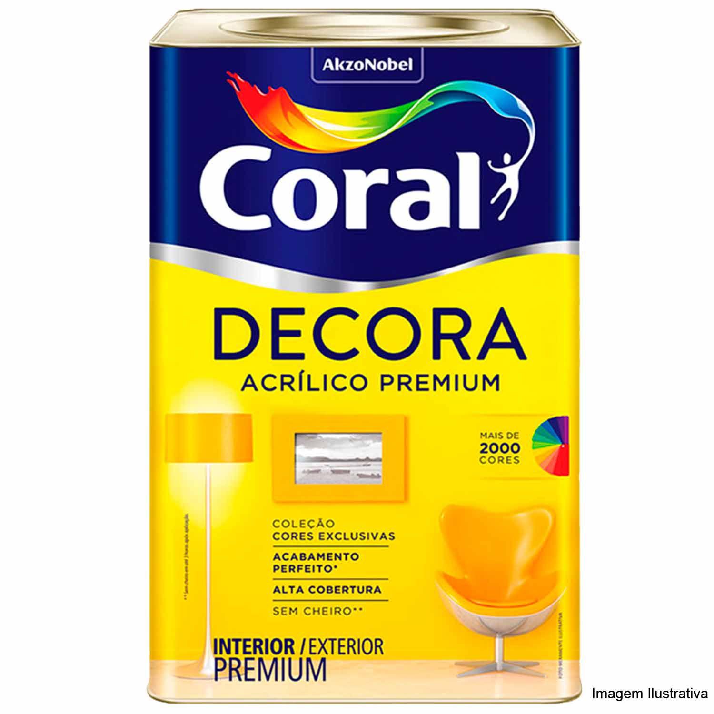 Coral Decora Fosco Matte 18L