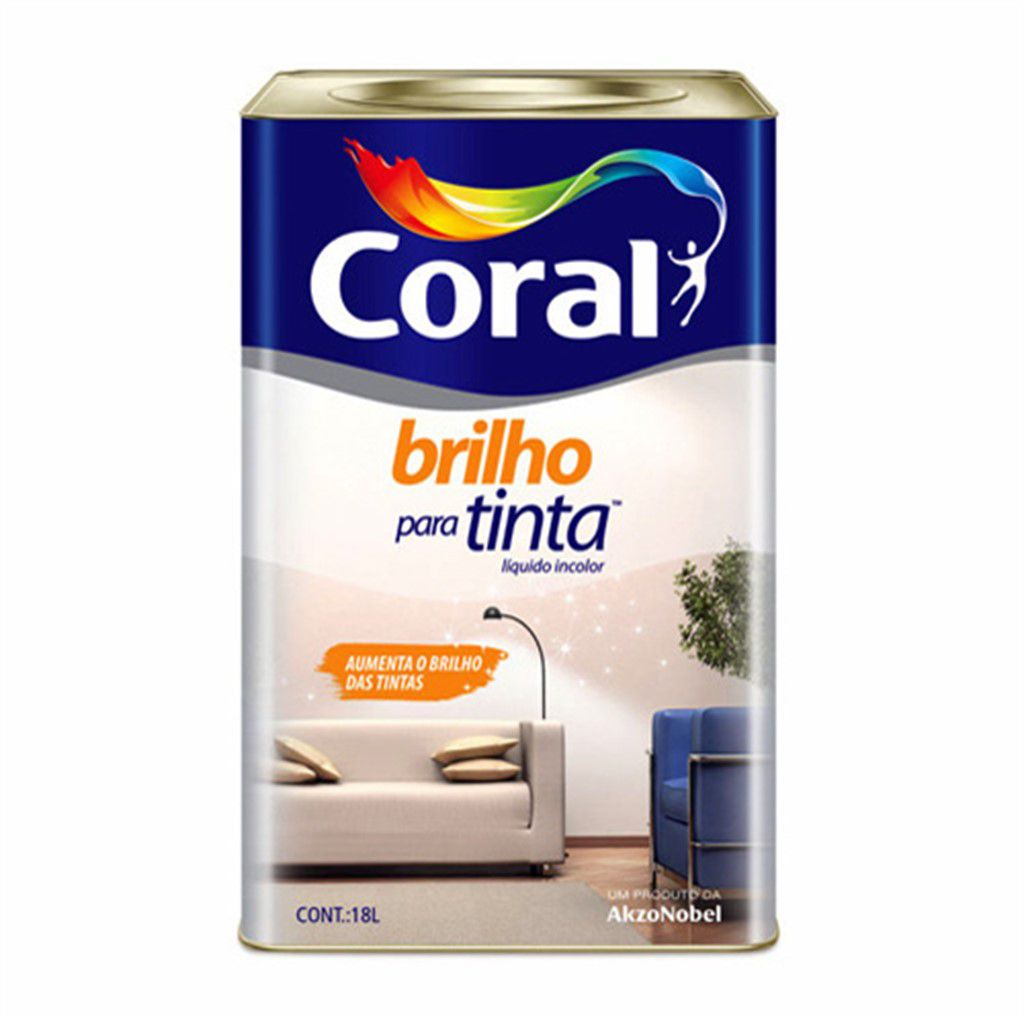 Coral Brilho para Tinta Incolor