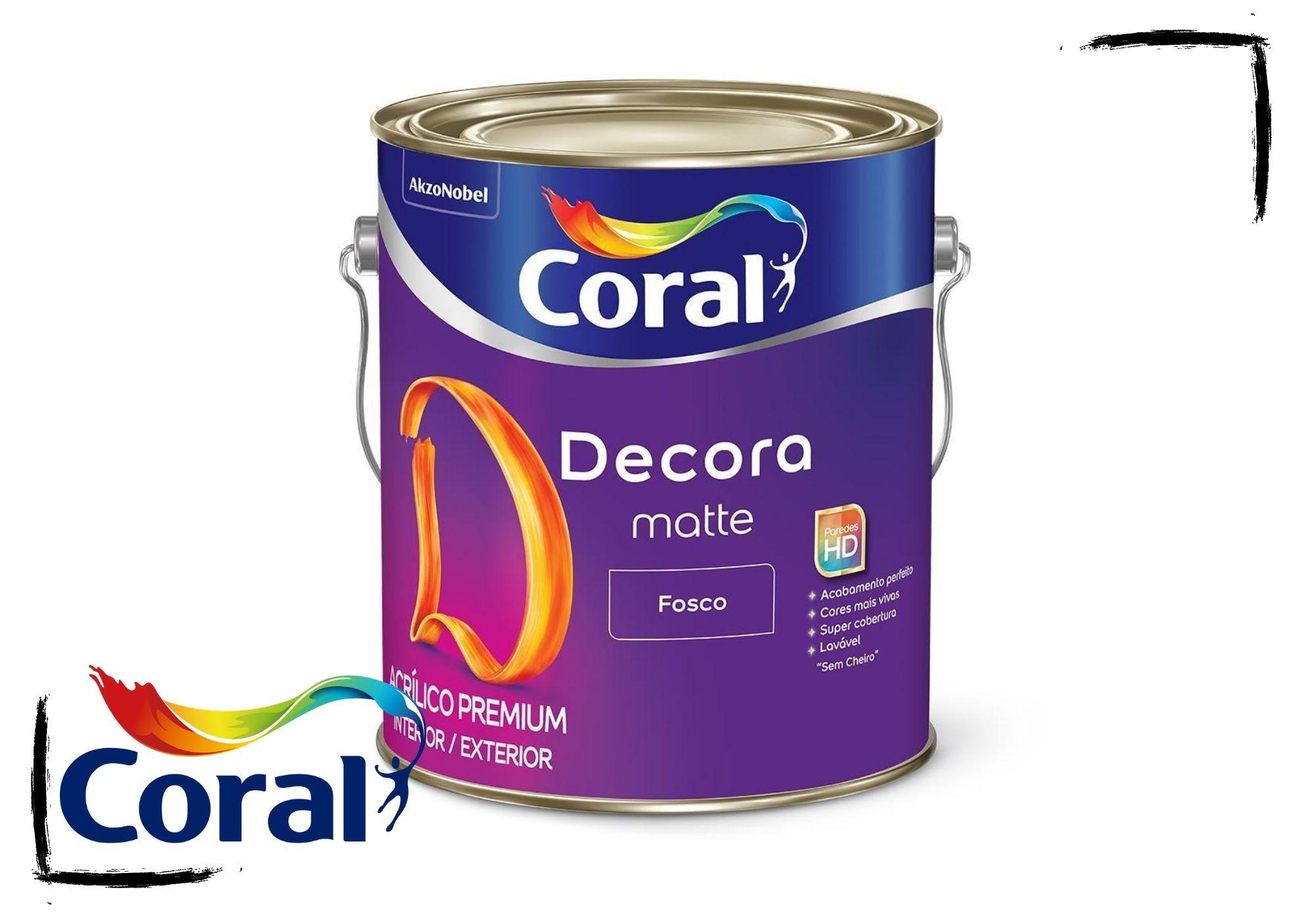Coral Decora Fosco Matte 3,6L*