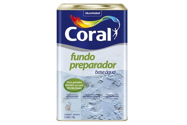 Coral Fundo Preparador Base d'água