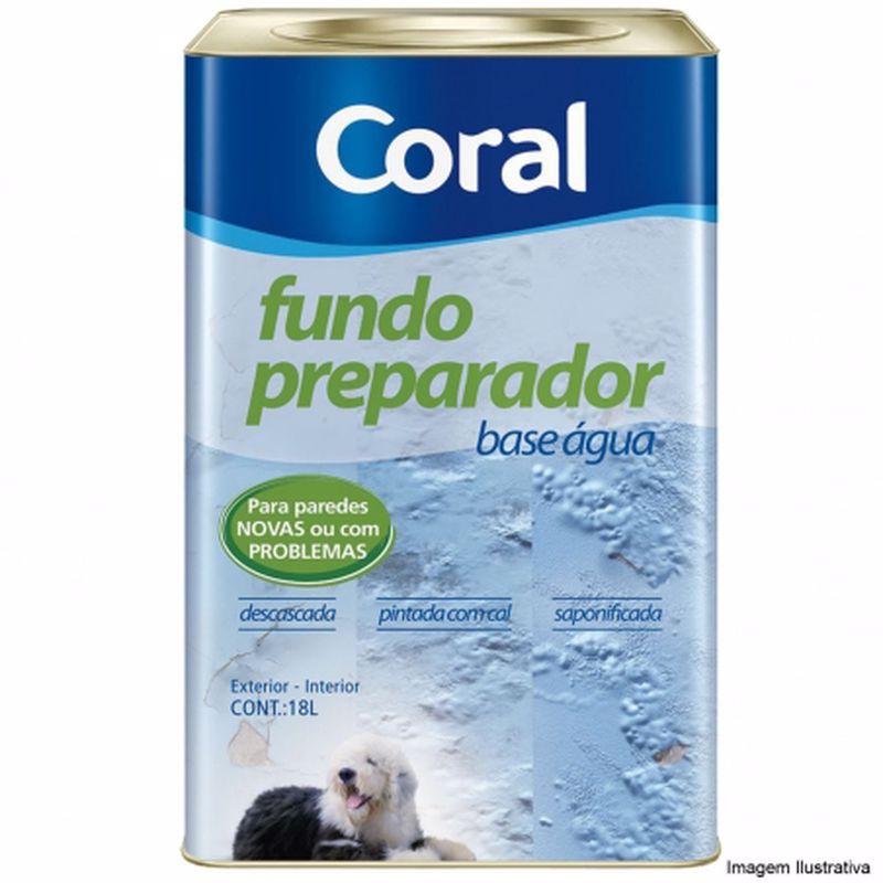 Coral Fundo Preparador De Parede