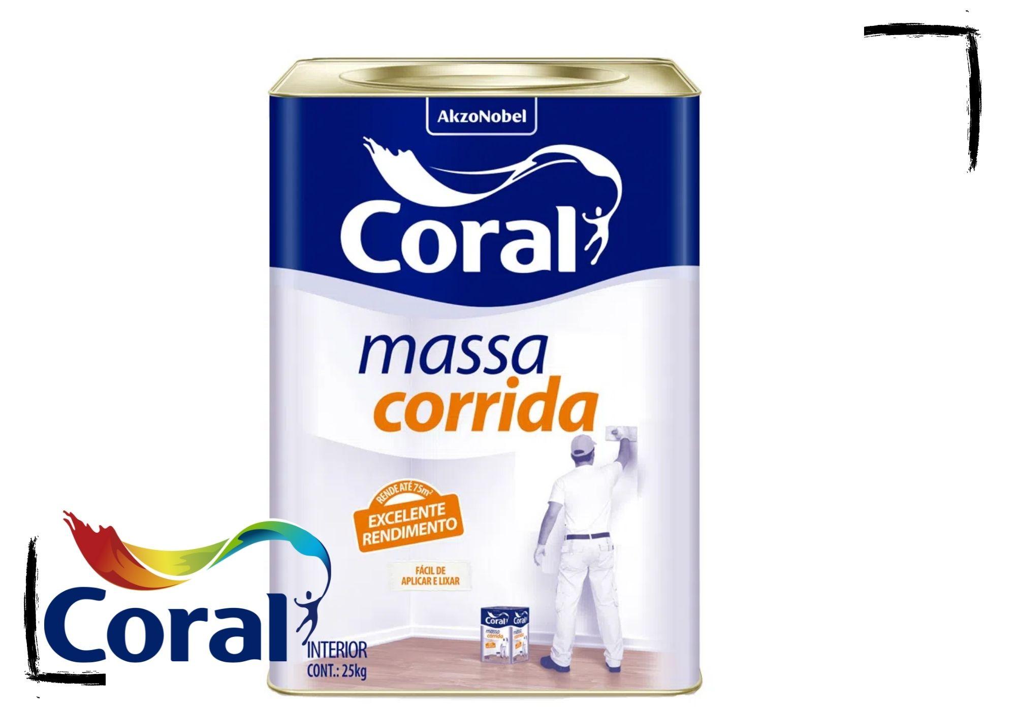 Coral Massa Corrida PVA