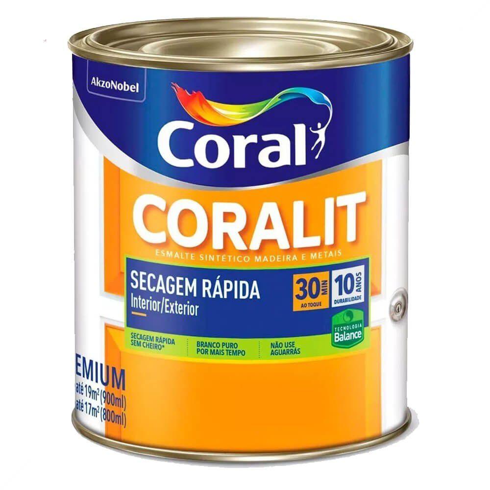 Coralit Acetinado Secagem Rápida Balance 900ml