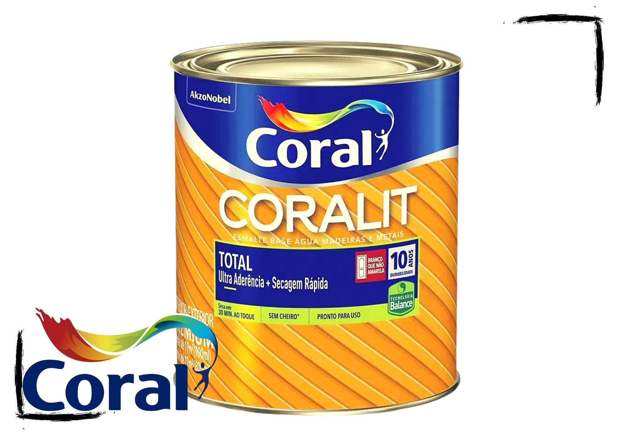 Coralit Acetinado Total Balance 900ml
