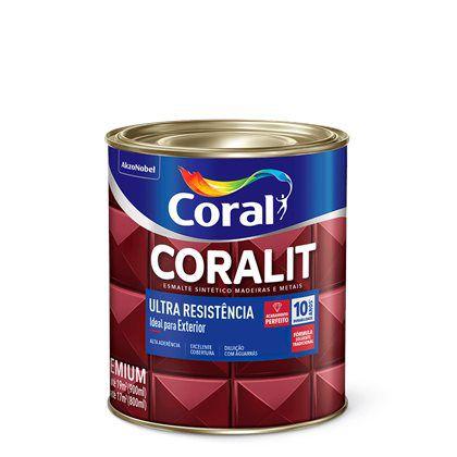Coralit Acetinado Ultra Resistência 900ml