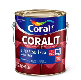 Coralit Brilho Ultra Resistência 3,6l