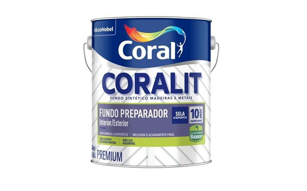 Coralit Fundo Preparador Para Madeira Balance