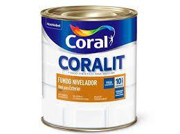 Coralit Fundo Nivelador Para Madeira