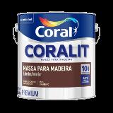 Coralit Massa Óleo p/ Madeira 900ml