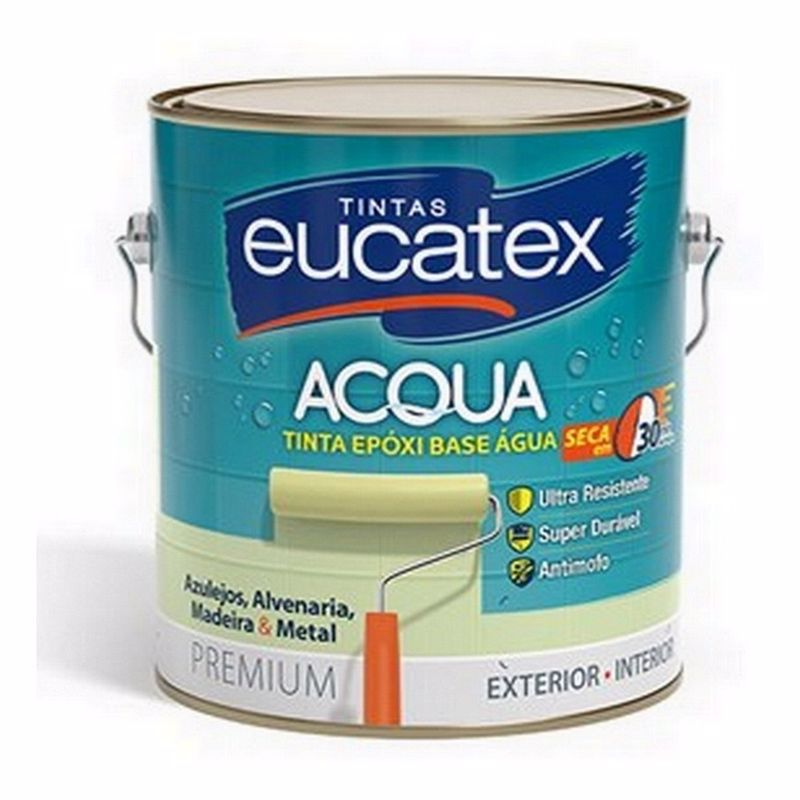 Eucatex Epóxi Brilhante Base d'Água 3,6L
