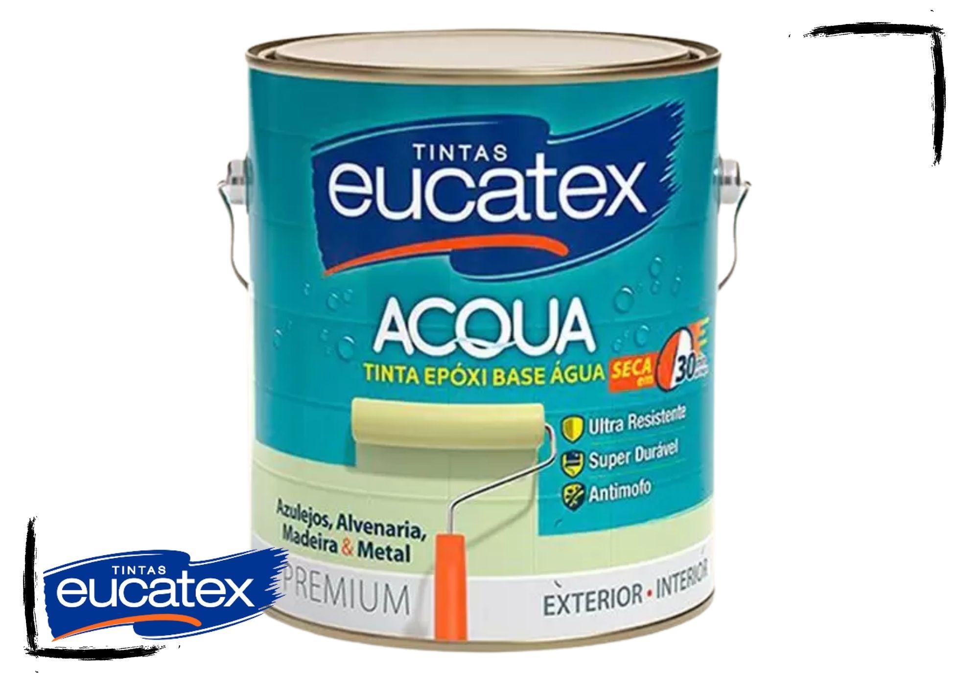 Eucatex Epóxi Semibrilho Base d'Água 3,6L