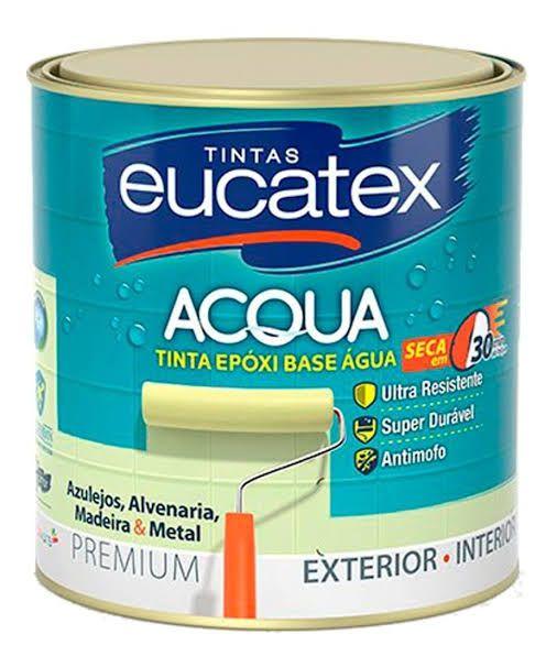 Eucatex Epóxi Brilhante Base d'Água 900ml