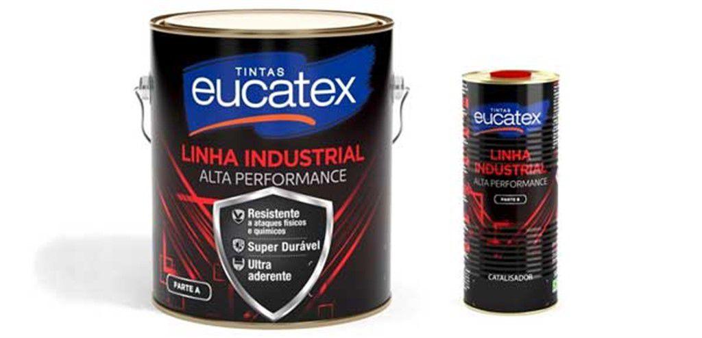 Eucatex Epóxi Brilhante Catalisável 2,7L C/ Catalisador
