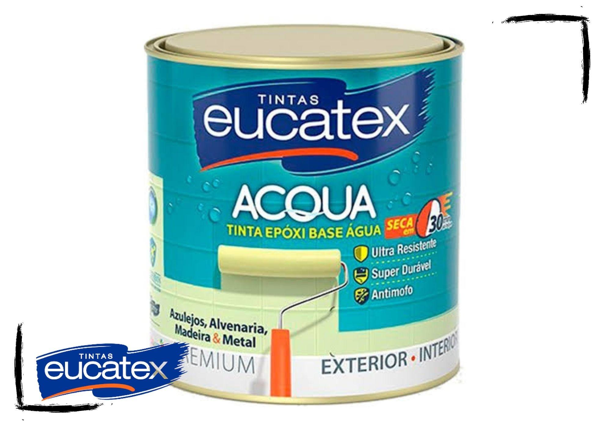 Eucatex Epóxi Semibrilho Base d'Água 900ml