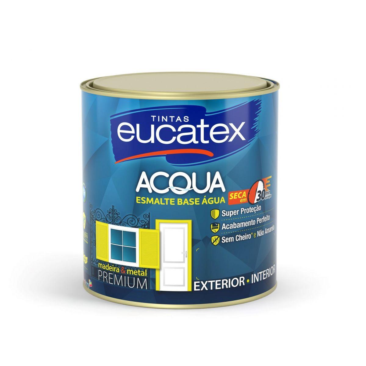 Eucatex Esmalte Acetinado Acqua 900ml