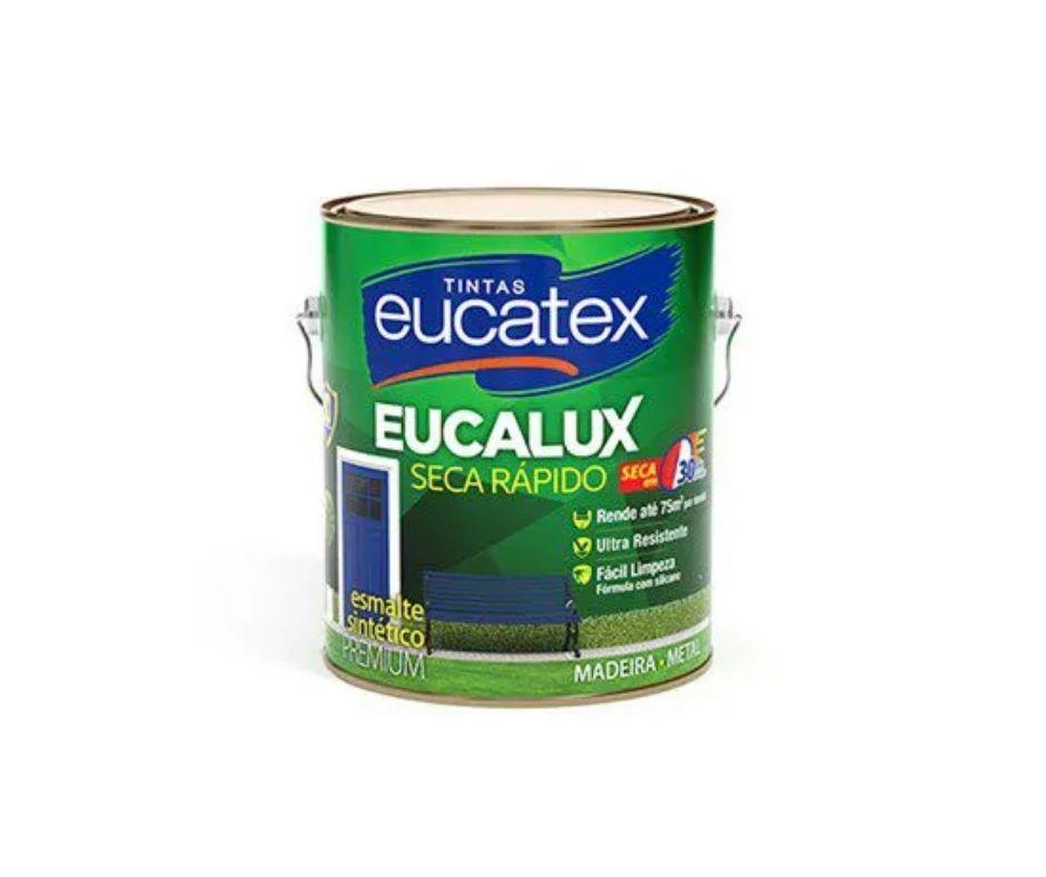 Eucatex Esmalte Acetinado Seca Rápido 3,6l