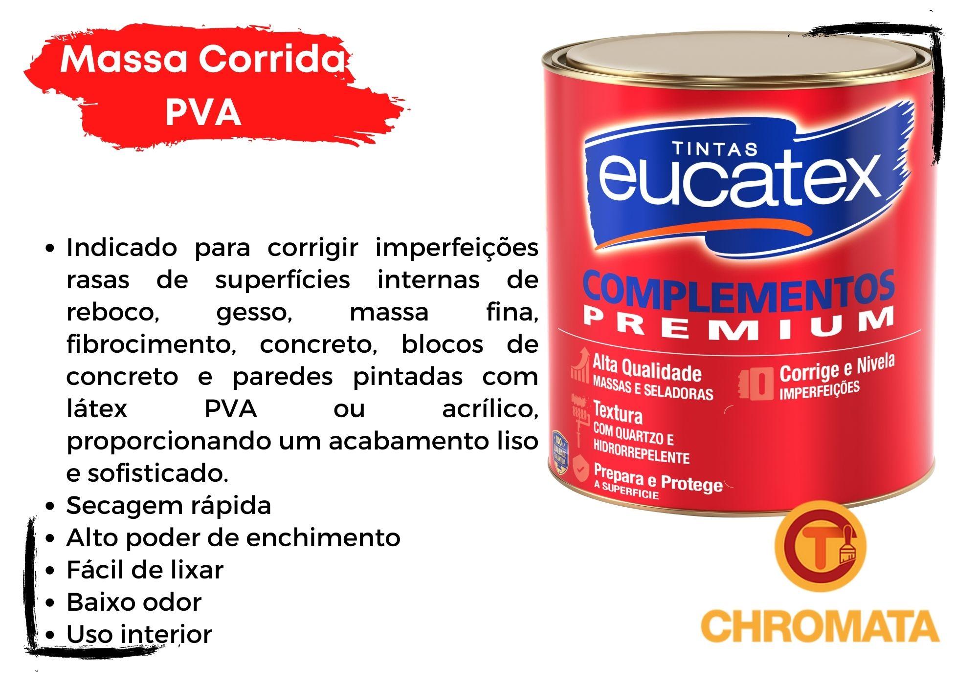 Eucatex Massa Corrida PVA Interior