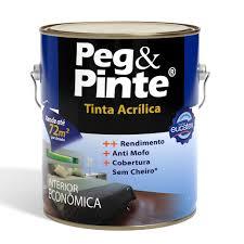 Eucatex Peg Pinte Acrílico Econômico 3,6L