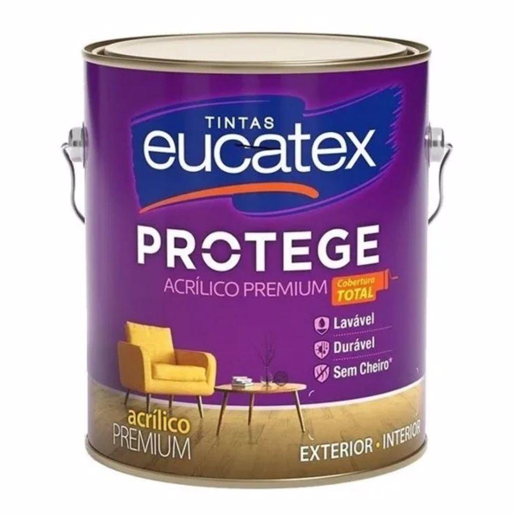 Eucatex Protege Acrílico Fosco Lavável 3,6L