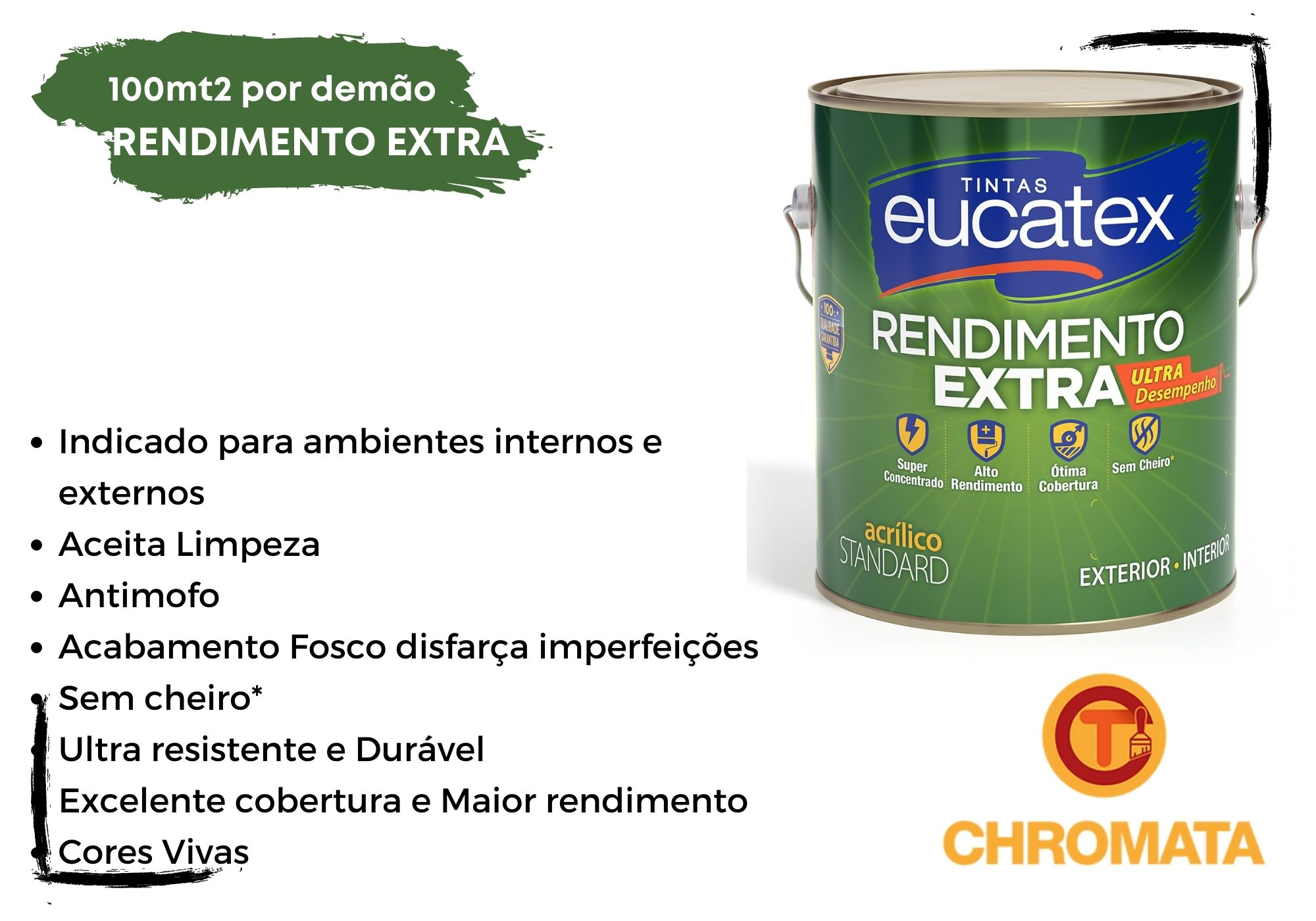 Eucatex Rendimento Extra 3,6L*