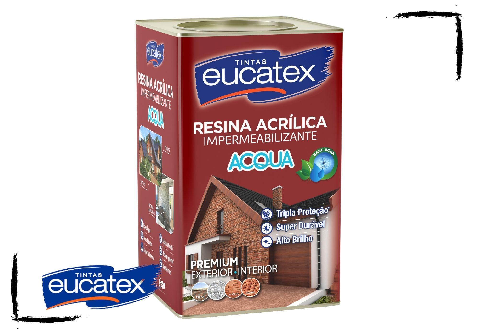 Eucatex Resina Acrílica Brilhante ACQUA