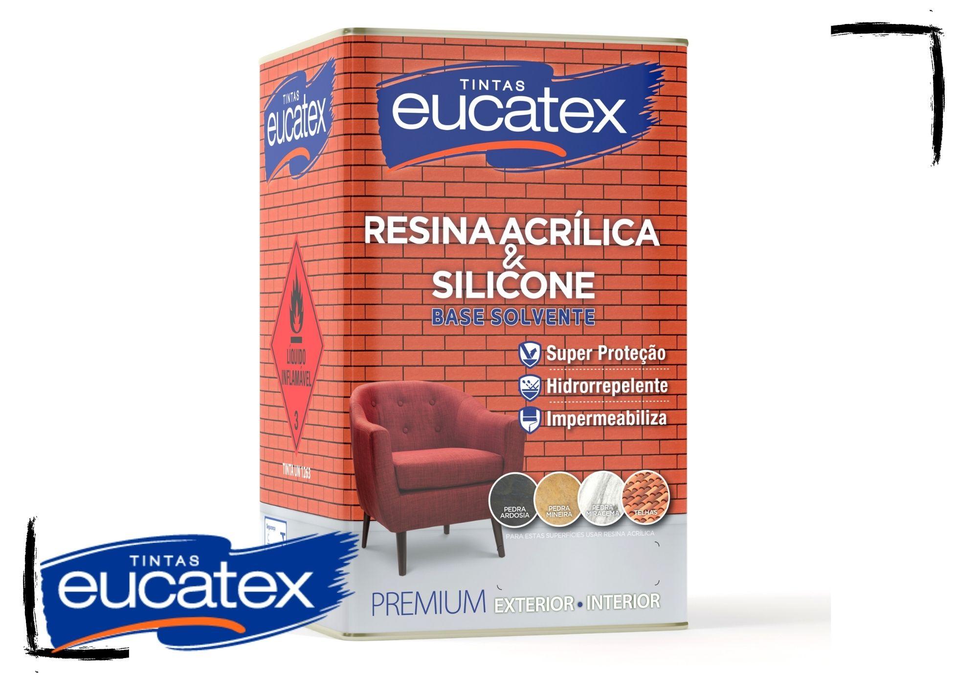 Eucatex Resina Acrílica Brilhante Incolor