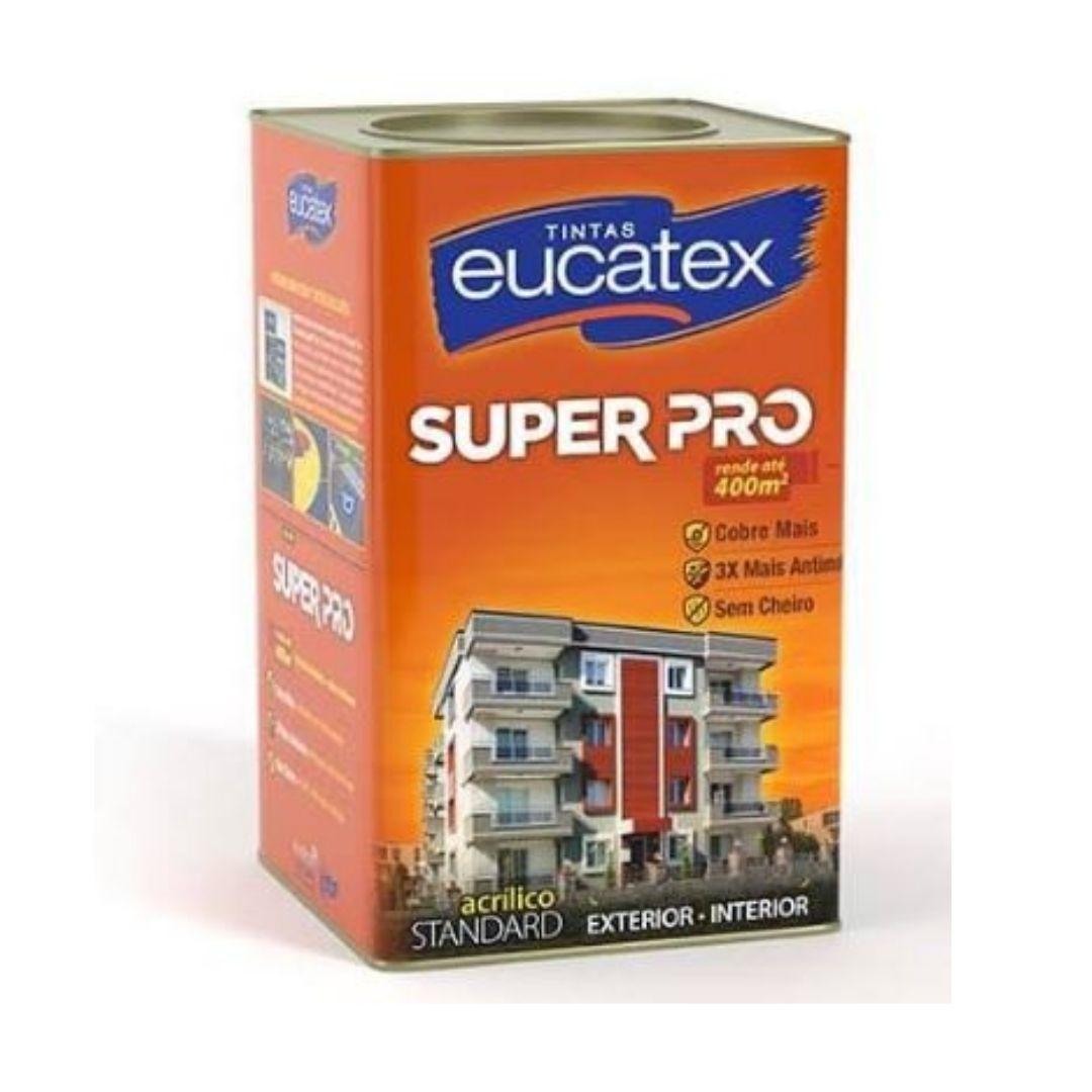 Eucatex Super Pró Semibrilho 18L