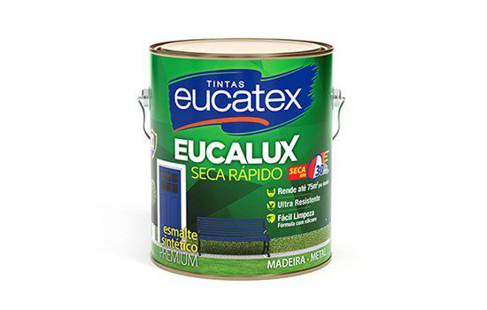 Eucatex Fundo Grafite 900ml e 3,6L