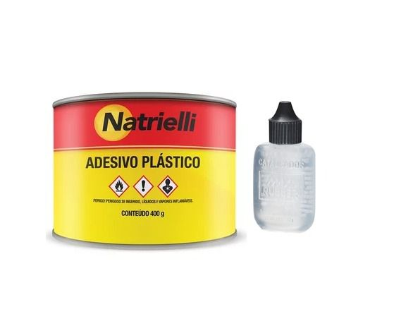 Massa Plastica Branca c/ Catalisador - Natrielli