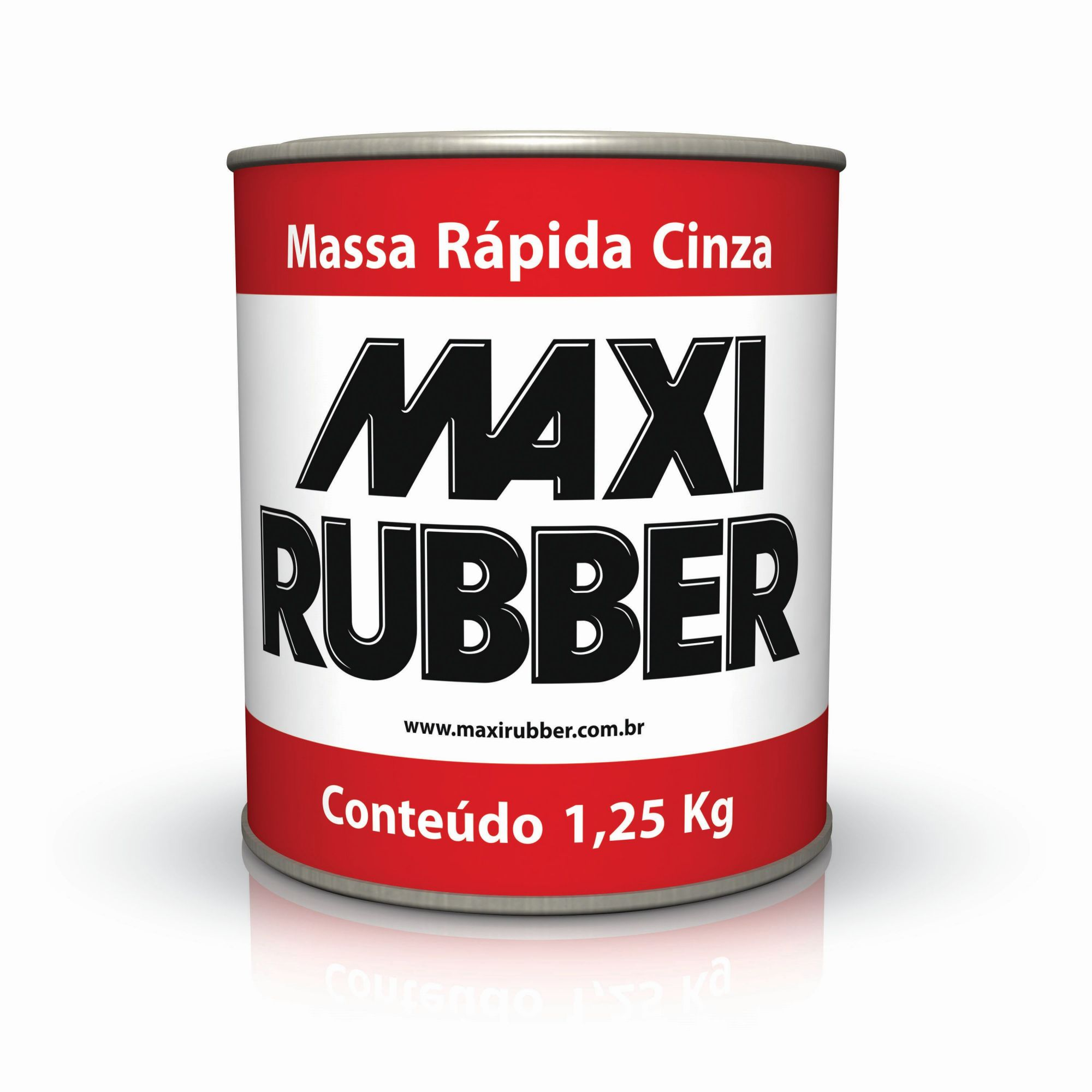 Maxi Rubber Massa Rápida 1,250Kg
