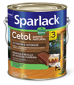 Sparlack Cetol Balance Stain Natural Acetinado Base D'água