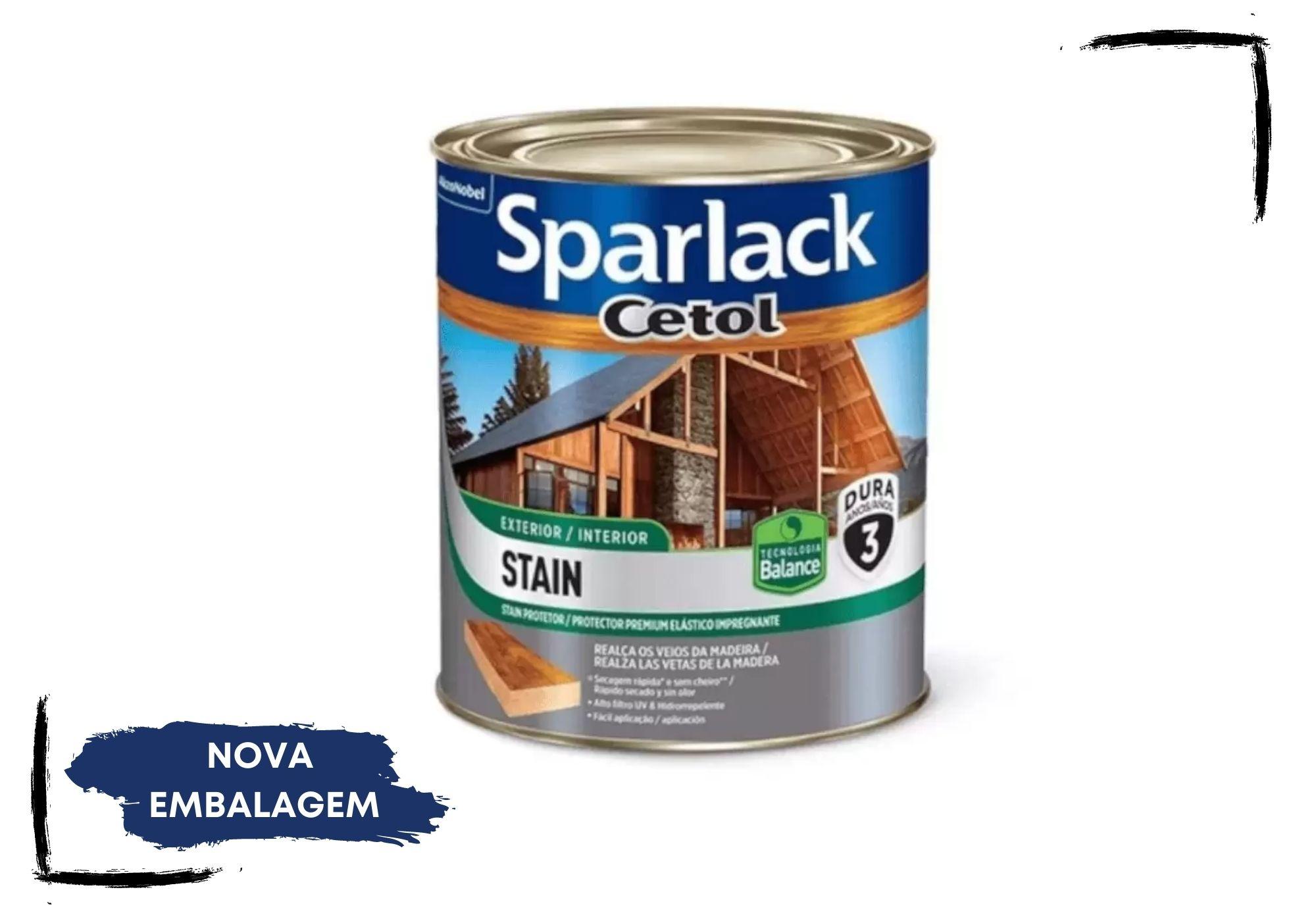 Sparlack Cetol Stain Balance: Incolor UV Glass, Natural e Cores Acetinado 900ml