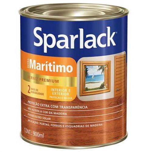 Sparlack Verniz Extra Marítimo 900ml e 3,6 litros Acetinado