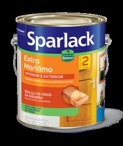 Sparlack Verniz Extra Marítimo Acetinado Balance (Base D'água)