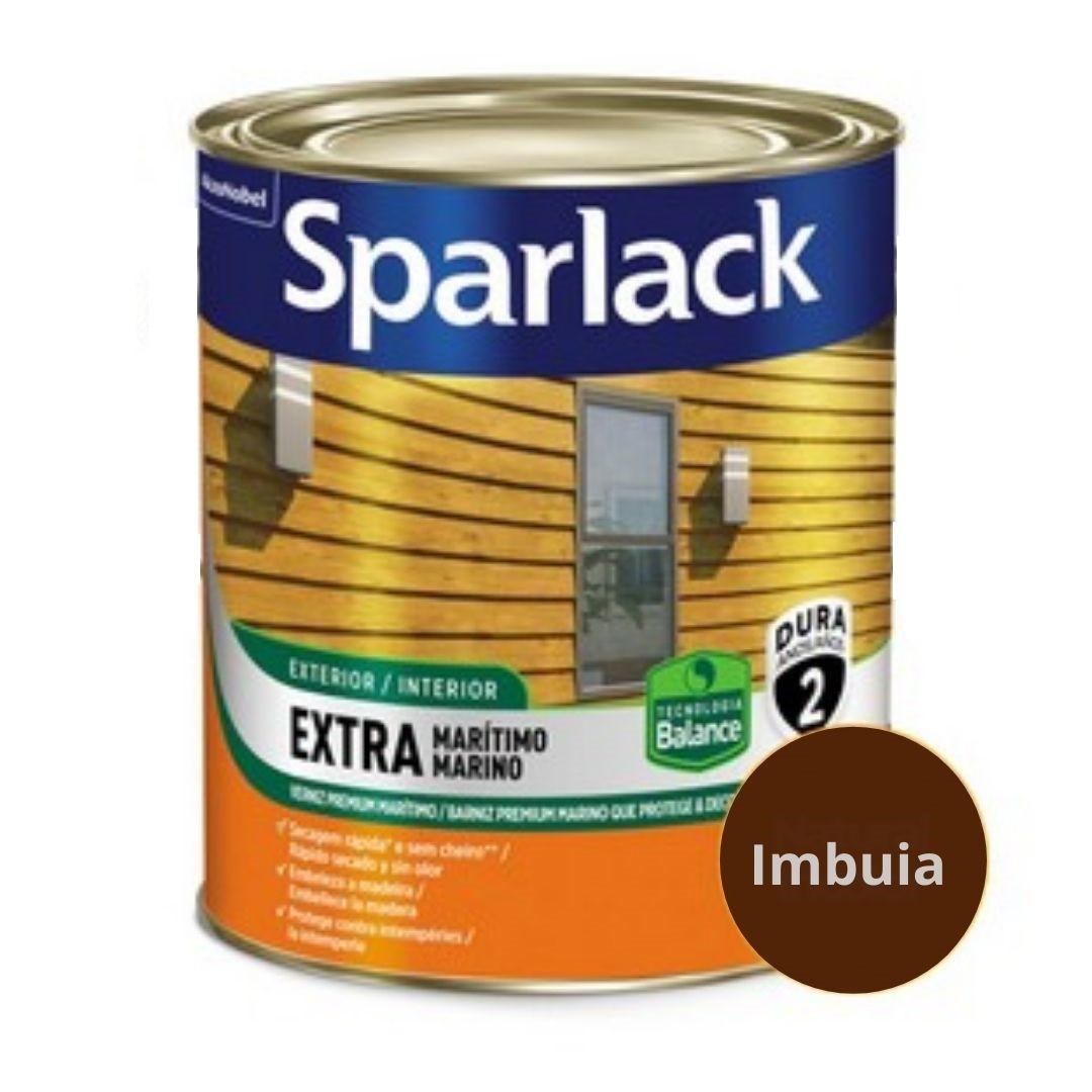 Sparlack Verniz Extra Marítimo Natural e Cores Brilho Balance 900ml