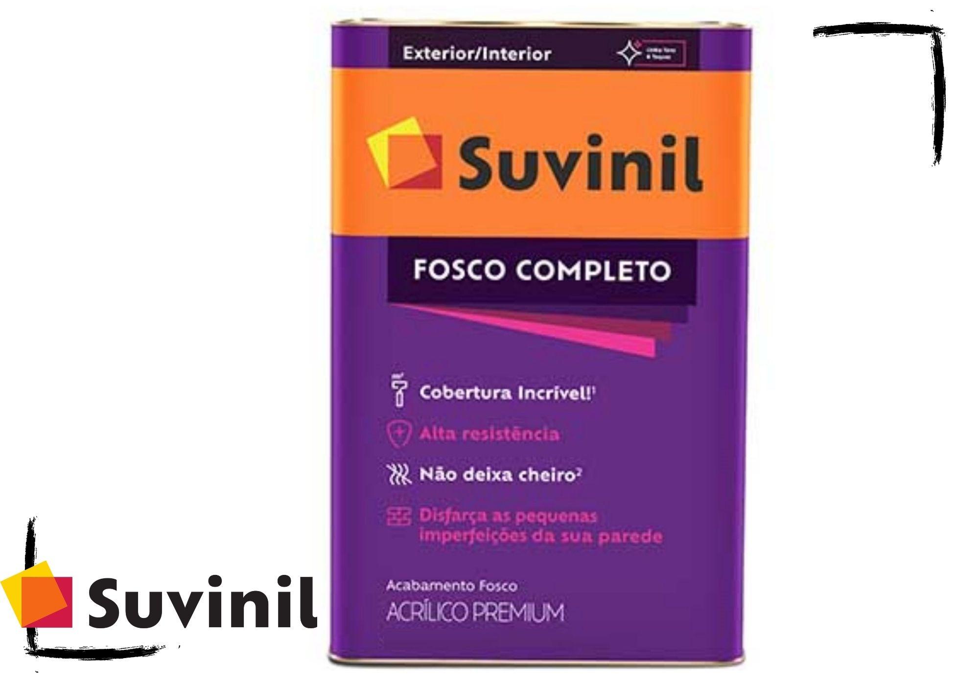 Suvinil Fosco Completo Acrílico Premium 18L*