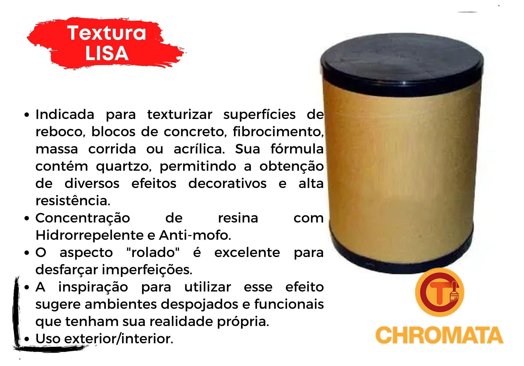 Textura Lisa ou Rústica (Grafiato) Branco 25kg