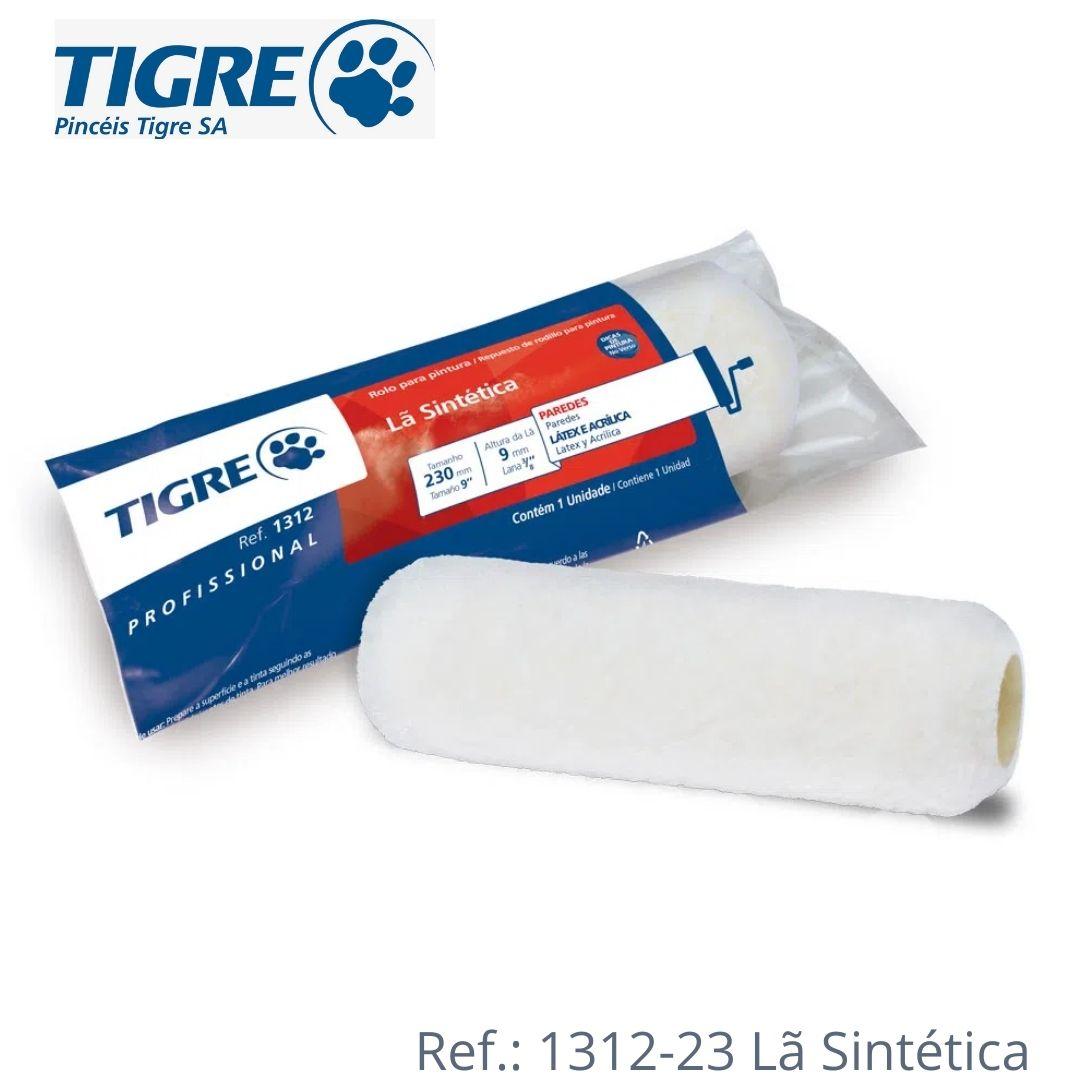 Tigre Rolos de Pintura Antirrespingo, Lã de Carneiro, Sintético e Textura