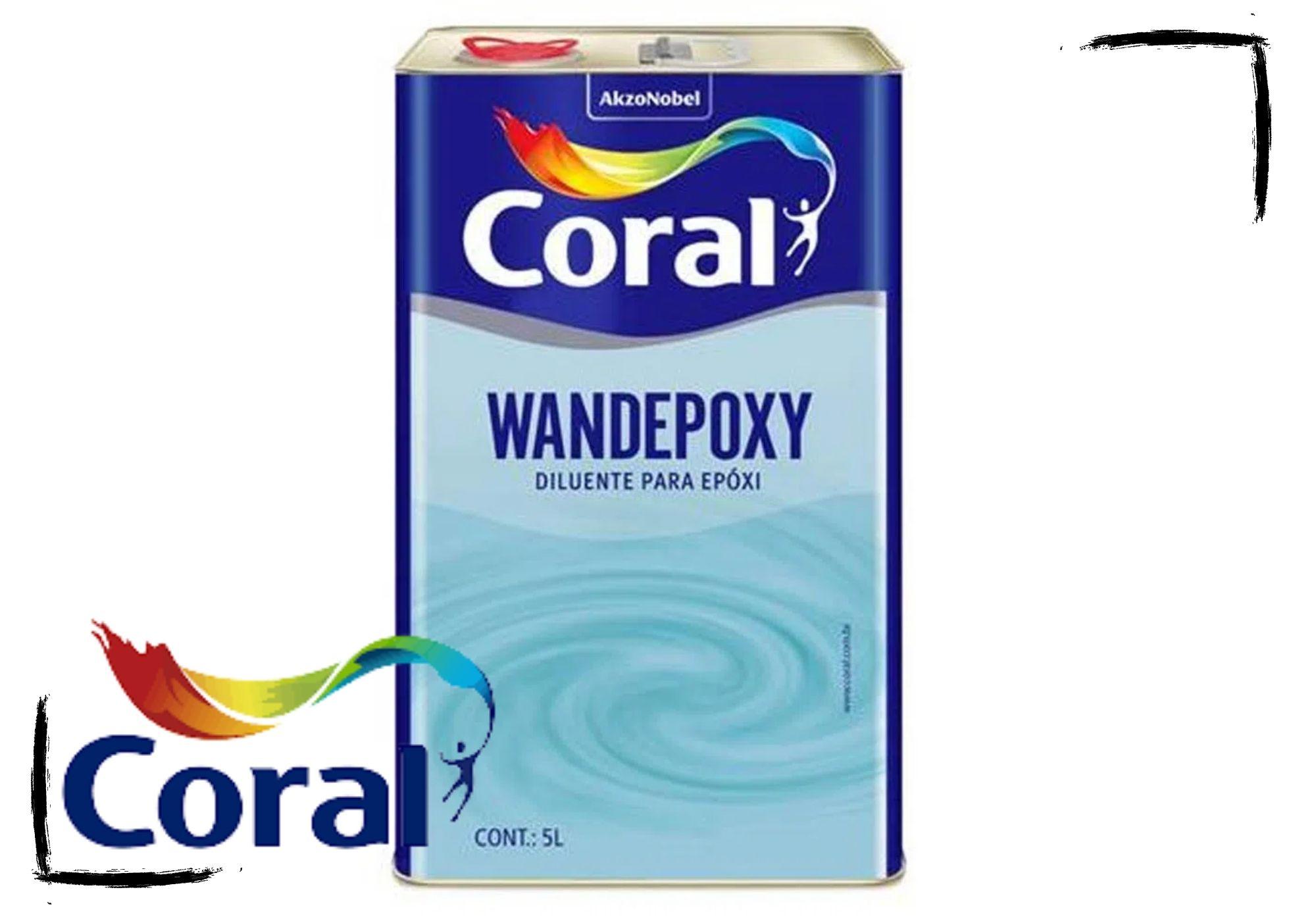 Wandepoxy Diluente Epóxi e Complementos