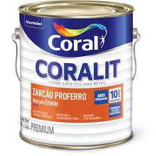Coral Zarcão Fundo Antióxido