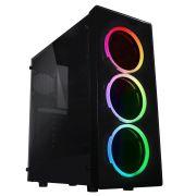 PC GAMER NEON RGB PENTIUM, RX560