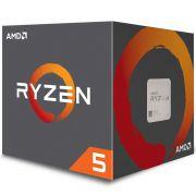 Processador AMD Ryzen 5 2600, Cooler Wraith Stealth, Cache 19MB, 3.4GHz 3.9GHz Max Turbo