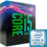 Processador Intel Core i5-9600K Coffee Lake Refresh, Cache 9MB, 3.7GHz (4.6GHz Max Turbo), LGA 1151