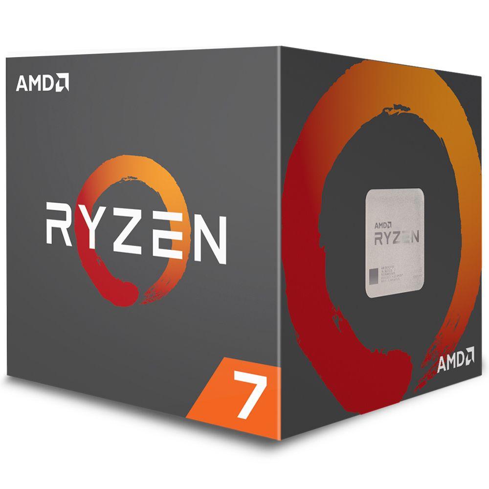 Processador AMD Ryzen 7 2700X, Cooler Wraith Prism, Cache 20MB, 3.7GHz 4.35GHz Max Turbo