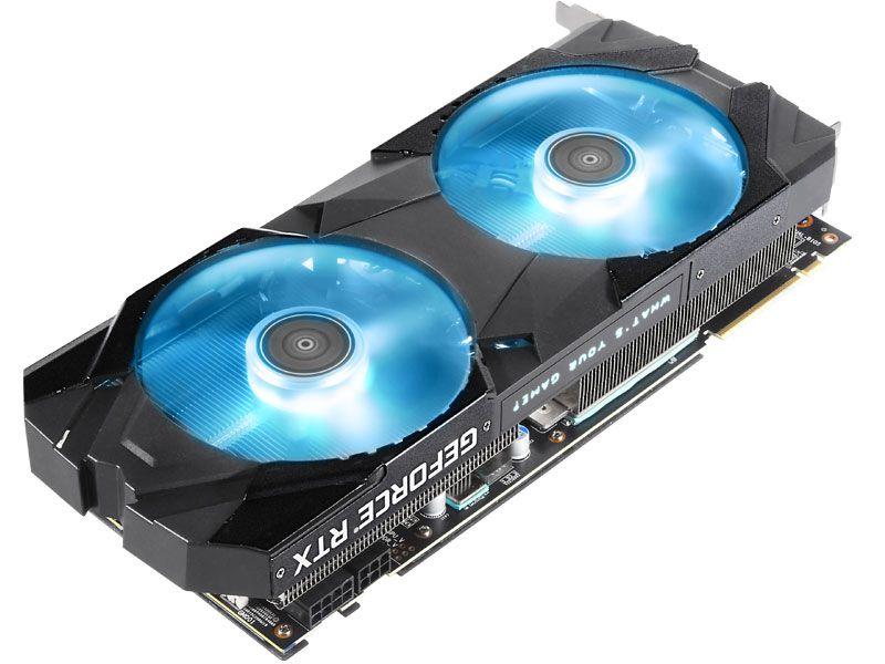 RTX 2080 EX RGB 8GB DDR6 256BIT14000MHZ HDMI DP
