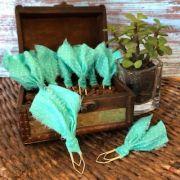 clips de tecido feito à mão (tiffany)
